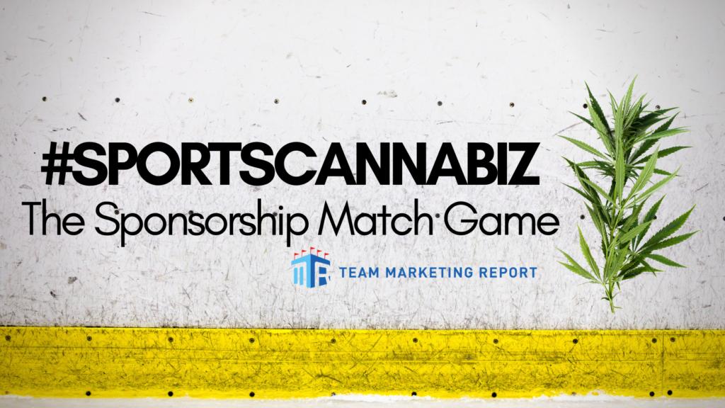 SportsCannaBiz: The Sponsorship Match Game