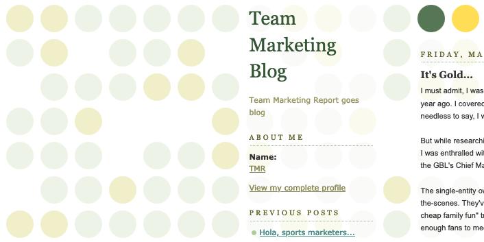 Team Marketing Blog: Apr 12, 2005
