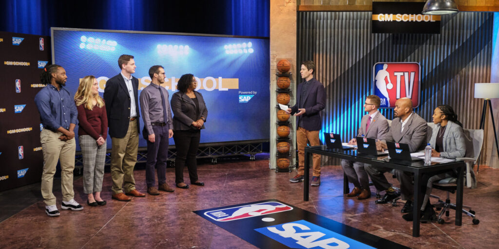NBA TV's GM School and SAP: Analytics + Reality TV = Great Front Office Auditions
